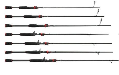 Abu Garcia 1-Piece Vendetta Series Baitcast Rod,