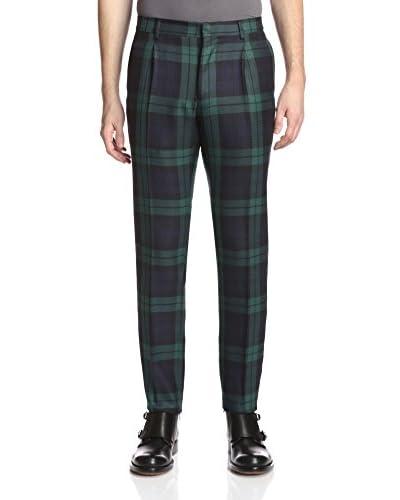 Valentino Garavani Men's Slim Fit Plaid Pant