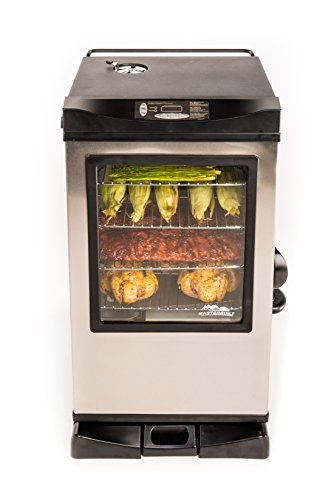 Masterbuilt 20077515 Front Controller Electric Smoker with Window and RF Controller, 30-Inch (Masterbuilt Smoker Pan compare prices)
