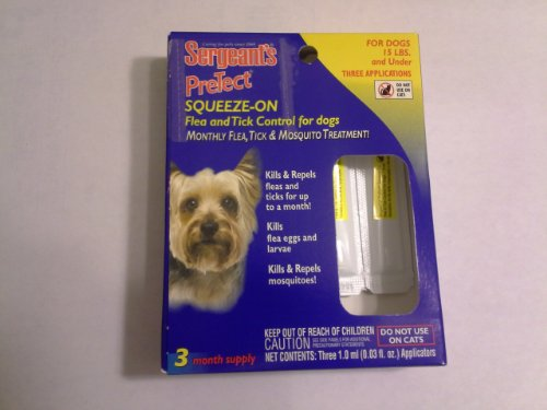 Sergeant's Pretect Squeeze-on Flea, Tick & Mosquito
