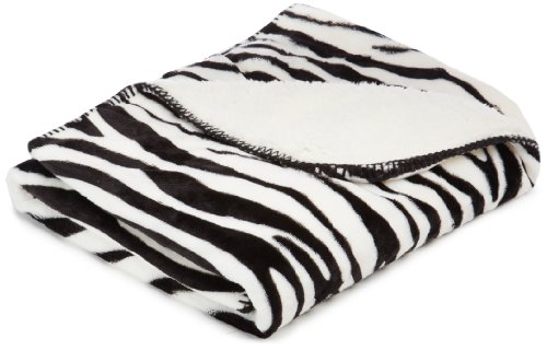 American Kennel Club Animal Pet Throw Blanket, Zebra back-1070499