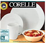 Corelle Livingware 16-Piece Dinnerware Set, Service for 4