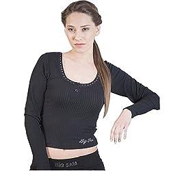 BIG SAM Lady Sweater Sweatshirt Jacket Hoody UNCLE BODY DOG Logo *4562*