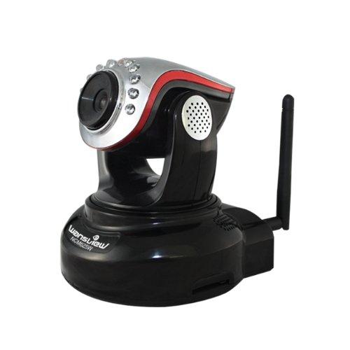 Iclever wansview cam ra ip de surveillance ncm625w 720p h264 mjpeg sans fil wifi pour int rieur for Camera de surveillance interieur sans fil
