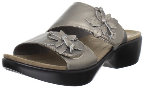 Dansko Women'S Donna Sandal,Metallic Pewter,39 Eu/8.5-9 M Us back-373554
