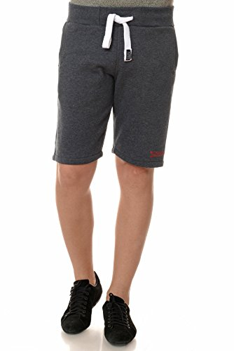 M.Conte Sweat-Short Pants Uomo Pantaloni in Felpa corti Pinuccio Black XL