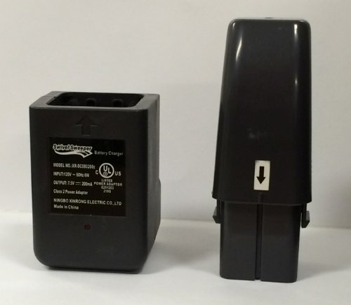 Wall Charger and Replacement Battery for All Cordless Swivel Sweepers