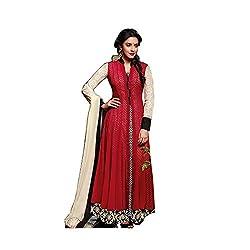 Jinaam Dress Women's Cotton Semi-stitched Salwar Suit Dupatta Material (26-ESI8-HZSK)