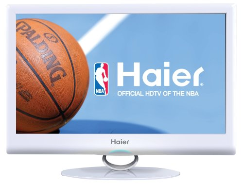 Haier HLC22XSLW2 White 22-Inch Ultra Slim 1080p LED LCD HDTV DVD Combo (Tv 24 Haier compare prices)