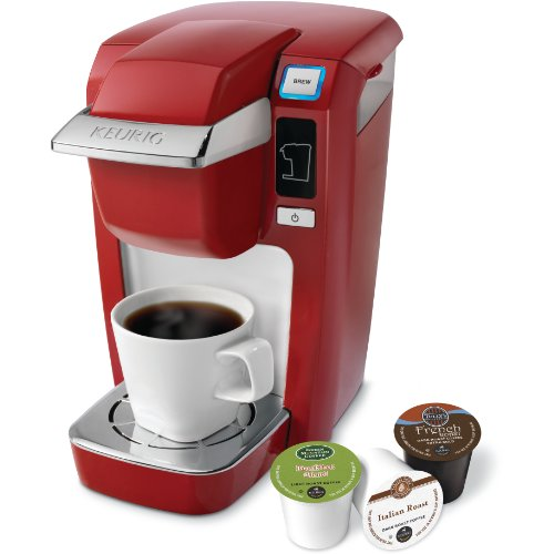 Keurig K10 Mini Plus Poinciana Red Single Serve Personal Brewer