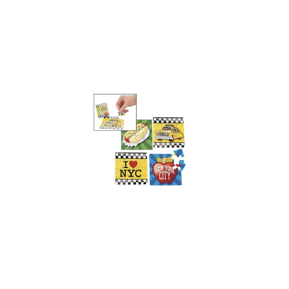 Big Apple Mini Puzzles   Games & Activities & Puzzles Toys & Games