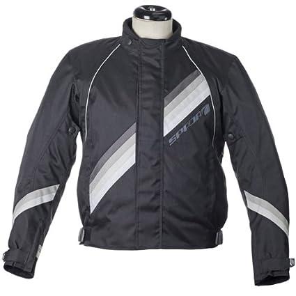 Spada Textile Jacket Black Code Seventy8 / D.Grey / L.Grey