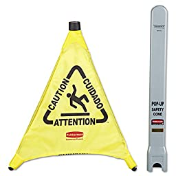 Rubbermaid Yellow Pop Up Safety Cone (9S00YL) Category: Safety Cones