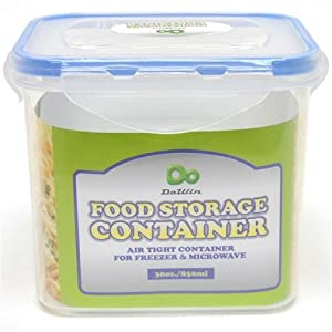 Rectangle Food Storage Container w/Click Lock Lid Case Pack 48