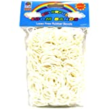 Loom Bandz - Rainbow Colours - White 600 Count