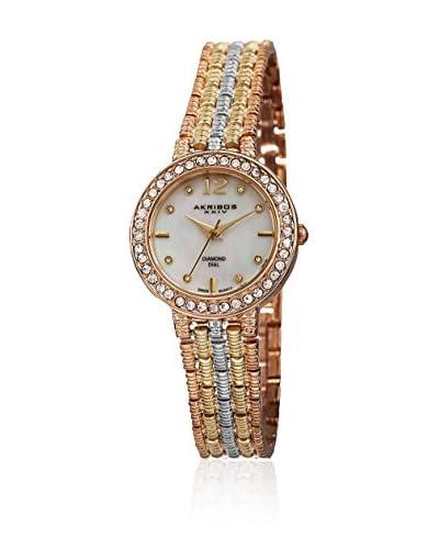 Akribos XXIV Uhr mit schweizer Quarzuhrwerk Woman AK757TRI mehrfarbig 30 mm
