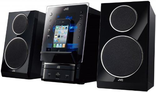 JVC Universal Flip Dock Micro System - Black