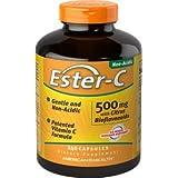 American Health Ester-C with Citrus Bioflavonoids, 500 mg, 240 Count
