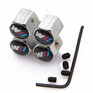 Anti-theft Wheel Tire Valve Stem Caps For Bmw M from D&R