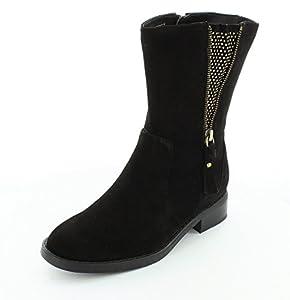 Blondo Womens Edna Black Boot - 7
