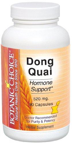 Botanic Choice Dong Quai Capsules, 520 mg, 90