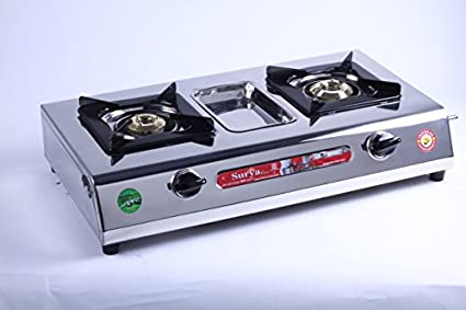 Care SC SS 204 Gas Cooktop (2 Burner)