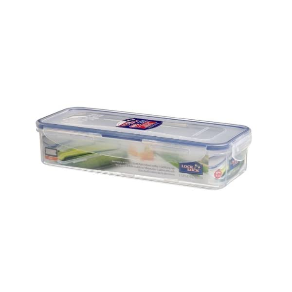 Dealtz Lock&Lock Classics Rectangular Food Container with Leak Proof Locking Lid and Tray, 1 Litre at Sears.com