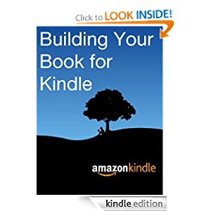 How to build and format your book for Kindle