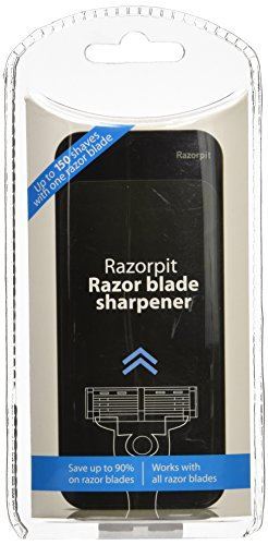 "NEW Razorpit ""Slide"" Razor Blade Sharpener in Black"