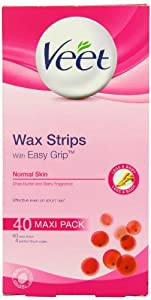 Veet Wax Strips for Normal Skin - Pack of 40