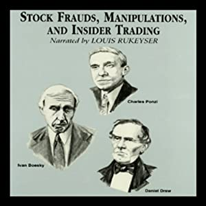 Stock Frauds, Manipulations, and Insider Trading Audiobook