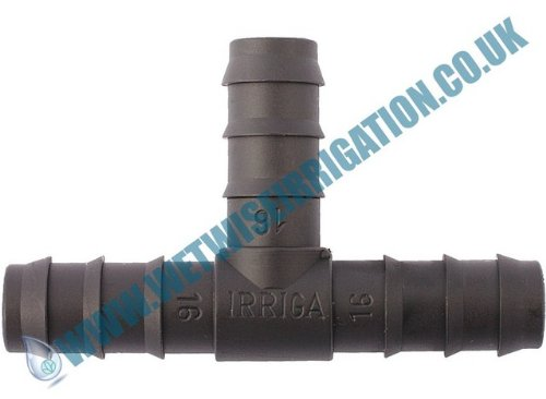 Pipe Fitting - 32mm Barbed Tee Connector (2 pack), Irrigation Pond Feature