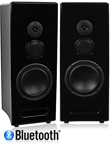 Great Features Of Limitless Creations Radiant 1 (Black) Bluetooth/wireless/wired Floorstanding Speak...