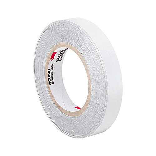 "Tapecase 3M Cn3490 0.75"" X 54.5Yd Gray Non-Woven Conductive Fabric Tape, 54.5 Yd Length, 0.75"" Width, Roll"
