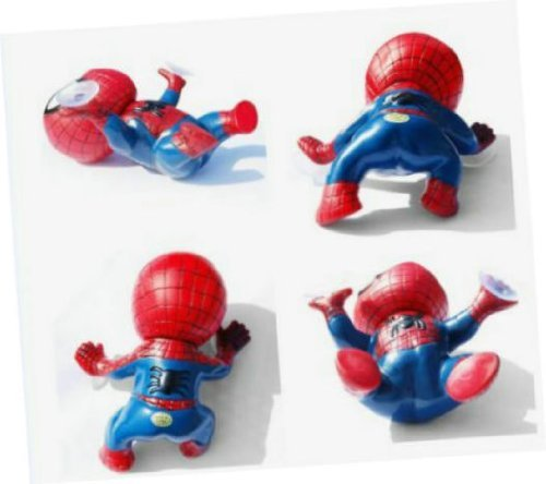 Giftoyou(TM) Newest 1Pcs Cute Auto Part Spider-man Doll Car Accessories Red Blue - 1