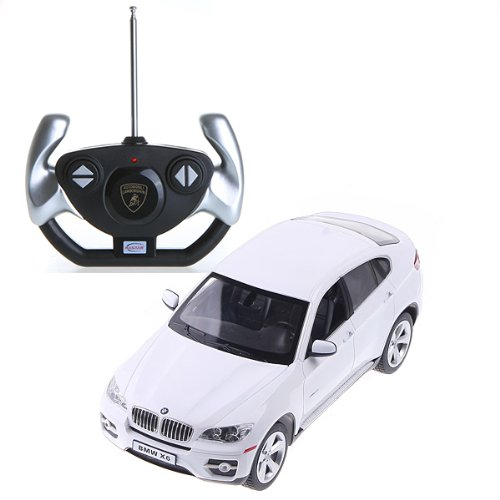 White Rastar 1:14 BMW X6 Car Model with Remote Control