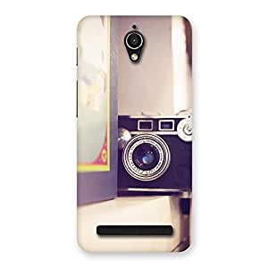 Stylish Pastel Camera Back Case Cover for Zenfone Go