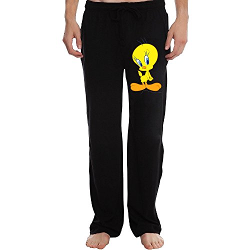 PTR Men's Tweety Bird Sweatpants Color Black Size XL (Loc Peppa compare prices)
