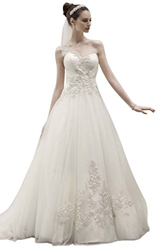 sample-one-shoulder-tulle-ball-gown-wedding-dress-with-lace-appliques-style