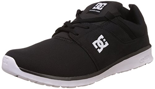 DC Shoes, HEATHROW M SHOE - Zapatillas para hombre, Negro (black/white bkw), 45