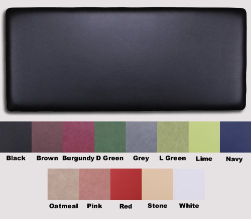 13 COLOURS - 6FT SUPER KING BOSTON PLAIN FAUX LEATHER HEADBOARD WITH STRUTS send message through amazon link to seller with colour required