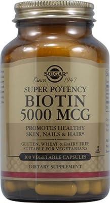 Solgar Biotin 5000 Mcg.