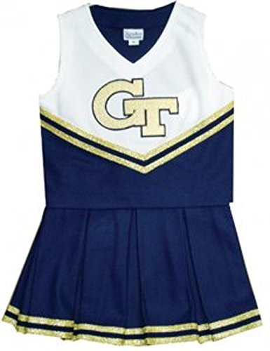 Georgia Tech Yellow Jackets NCAA College Youth Cheerleading Outfit- Size 20