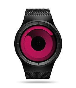 ZIIIRO Mercury Black Magenta Watch