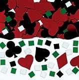 Amscan International Metallic Confetti Casino
