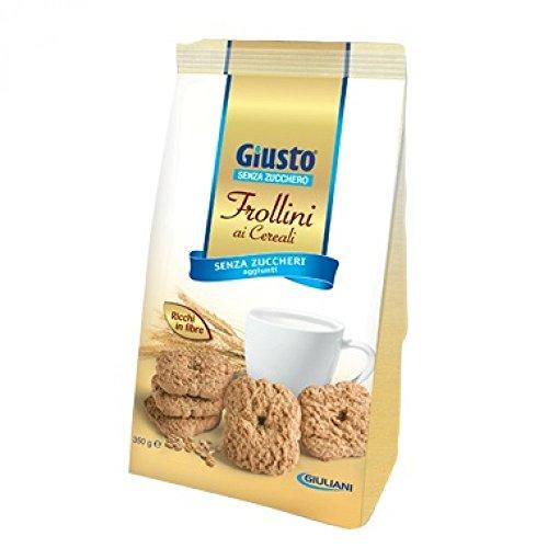 Giusto Frollini Ai Cereali Senza Zucchero 350g