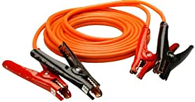 Coleman Cable 08565 12-Feet Heavy-Duty Booster Cables, 6-Gauge