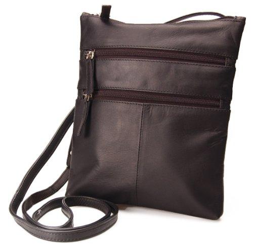 Visconti Genuine Leather Small Shoulder / Cross