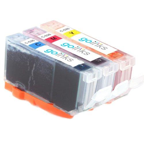 1 Kompatibel C/M/Y Farbe Tintenpatronen Set zu ersetzen CLI-551 (3 Tinten) - Cyan / Magenta / Gelb for Canon Pixma iP7250, MG5450, MG6350, MX925
