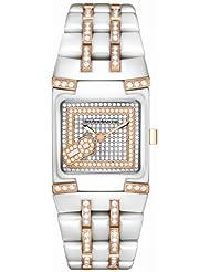 TechnoMarine Women's 308007 BlackSnow Mini Diamond Watch